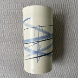 """Handmade pottery vase made in BC 7.75"""""""